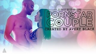 ModelTime – A Day In The Life: Pornstar Couple – Avery Black, Oliver Davis
