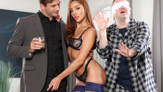 CuckedXXX – What He Can't See Can't Hurt Him Right? – Vanna Bardot, Nathan Bronson