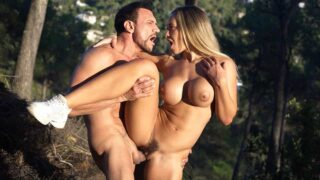 DDFBusty – Blondie Got Fucked In The Woods By A Lumberman – Briana Banderas, Marco Banderas