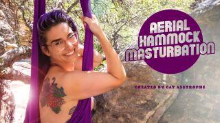 ModelTime – Aerial Hammock Masturbation – Cat Asstrophe