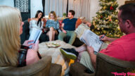 MyFamilyPies – We Want Creampies For Christmas – S17:E1 – Hime Marie, Nikole Nash, Kyle Mason