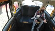 SexInTaxi – Sexy Blonde Widow Got It Hard In The Taxi – Brittany Bardot, Thomas