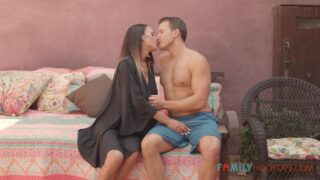 FamilyHookups – McKenzee Lee And Her Massive Tits Fuck Her Hot Stepson While In Quarantine – McKenzie Lee, Codey Steele