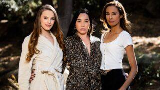 GirlsWay – Spying On The New Neighbors – Jillian Janson, Karlee Grey, Kylie Le Beau