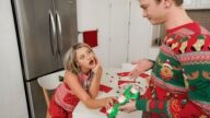OnlyTeenBlowJobs – A Christmas Cocksuck – Harmony Rivers, Alex Jett