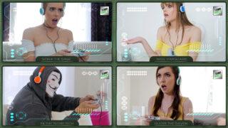 BFFs – 3 Gamer Girls – Rebecca Vanguard, Raven Right, Sidra Sage, Filthy Rich