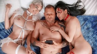 BrazzersExxtra – Conflicting Thots – Judy Jolie, Skye Blue, Scott Nails