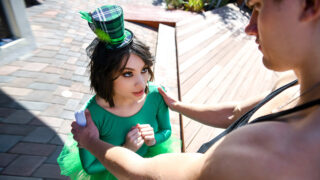 ExxxtraSmall – Cute Little Green Leprechaun – Liv Wild, Michael Swayze