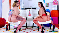 AllAnal – Big Booty Madness With Valentina And Carmela – Valentina Jewels, Carmela Clutch, Logan Long