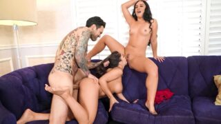 BrazzersExxtra – Two Wives, One Cock – Kristina Rose, Tru Kait, Small Hands
