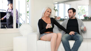 CuckedXXX – While Her Husband Grills Brook Gets That Pussy Drilled – Brook Page, Tommy Pistol