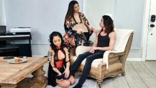 LittleAsians – Geisha In Training – Krystal Davis, Avery Black, David Lee