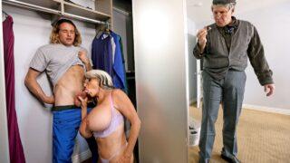 MommyGotBoobs – Sneaky Grandma – Sally D'Angelo, Tyler Nixon