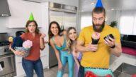 BrazzersExxtra – Smashing My Hot Lesbian Roommates – Codi Vore, Nolina Nyx, Xander Corvus
