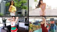 TeamSkeetSelects – Spicy Babes – Sarah Lace, Hazel Heart, Destiny Cruz, Thalia Diaz