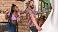 BrazzersExxtra – Jogging His Memory With Her Pussy – Demi Sutra, Ebony Mystique, Alex Legend