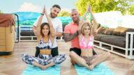 DaughterSwap – Yoga Stepdaddy Swap – Alicia Williams, Kira Perez, Gunnar Stone, Peter Green