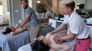 MomSwap – Stepmom's Massage Treat – April Storm, Nickey Huntsman