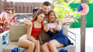 FamilyStrokes – 4th of July Wiener – Lolly Dames, Selena Love, Johnny The Kid