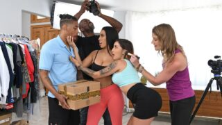 RKPrime – Delivering On A Porno Set – Amirah Styles, Anna Chambers, Zaddy