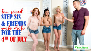 StepSiblingsCaught – Take Your Fun Sized Sister And Her Friends To The Amusement Park For Fourth Of July – S17:E8 – Jessie Saint, Lulu Chu, Madi Collins, Codey Steele