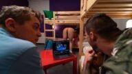 FakeHostel – The Naked Interruption – Lady Gang, Steve Q, Angelo Godshack