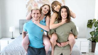 SisSwap – Operation: Stepbro Swap – Angel Youngs, Samantha Reigns, David Lee, Oliver Faze