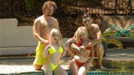 SisSwap – Stepsisters' Teenie Bikinis – Haley Spades, Minxx Marley, Billy Boston, Robby Echo