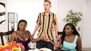 BrazzersExxtra – Meeting GF's Slutty Family – Osa Lovely, Gogo Fukme, Alex Mack