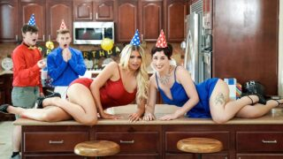 MomSwap – Birthday Swap Surprise – Olive Glass, Brooklyn Chase, Oliver Faze, Tyler Cruise