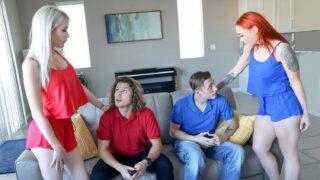 MomSwap – All Bets Are Off – Katie Monroe, Nova Sky, Jay Romero, Cole Church