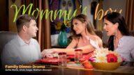 MommysBoy – Family Dinner Drama – Silvia Saige, Sofie Marie, Nathan Bronson