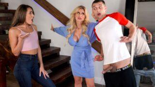 MomsInControl – College Couple Gets Caught –  MacKenzie Mace, Casca Akashova, Johnny The Kid