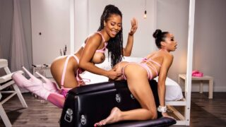 WhenGirlsPlay – October TOTM – Showing Her The Ropes – Kira Noir, Alexis Tae